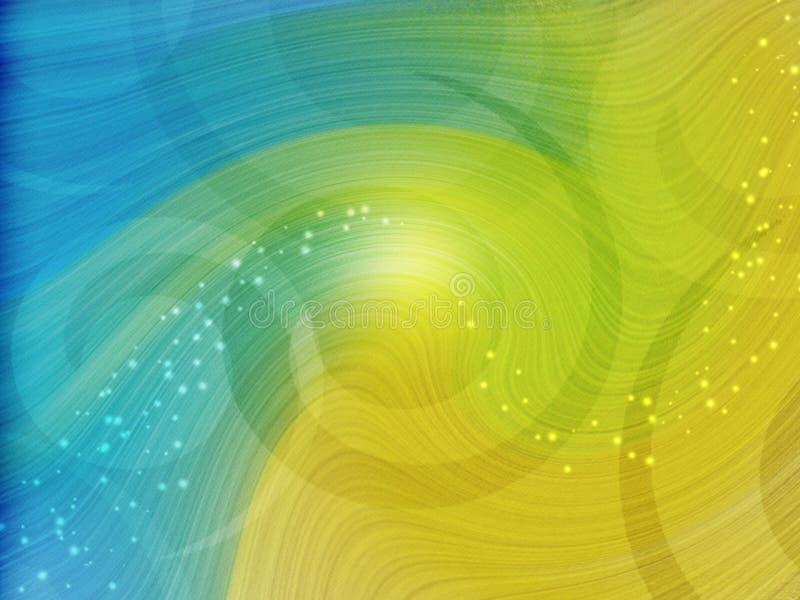Twirl o papel de parede do desktop ilustração royalty free
