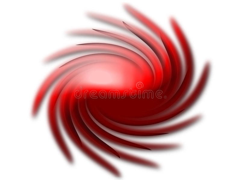 Download Twirling Shape stock illustration. Illustration of pattern - 102875