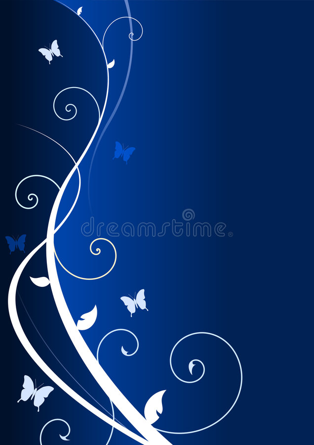 Twirls stock illustration