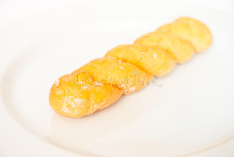 Twist Bread Stock Photo