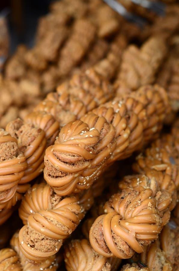 Twist Of Dough Stock Photos