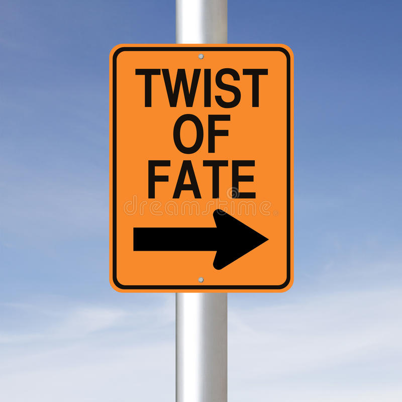 Download Twist of Fate stock illustration. Image of road, direction - 34445458