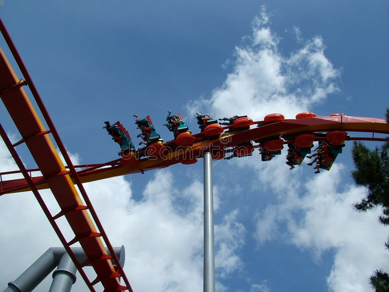 Download Twisted stock photo. Image of fast, coaster, outdoors, down - 92250