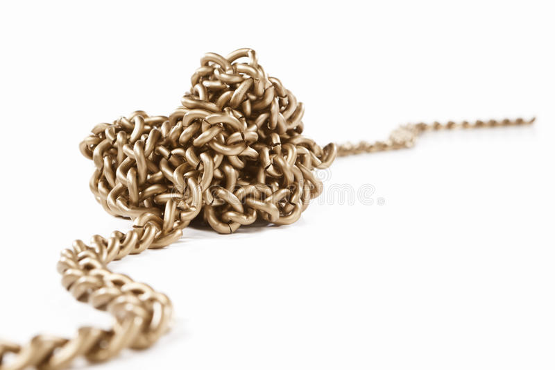 Twisted Chain Royalty Free Stock Image