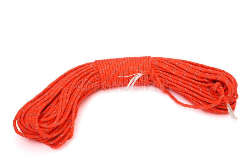 Download Twisted paracord stock image. Image of single, equipment - 29428793