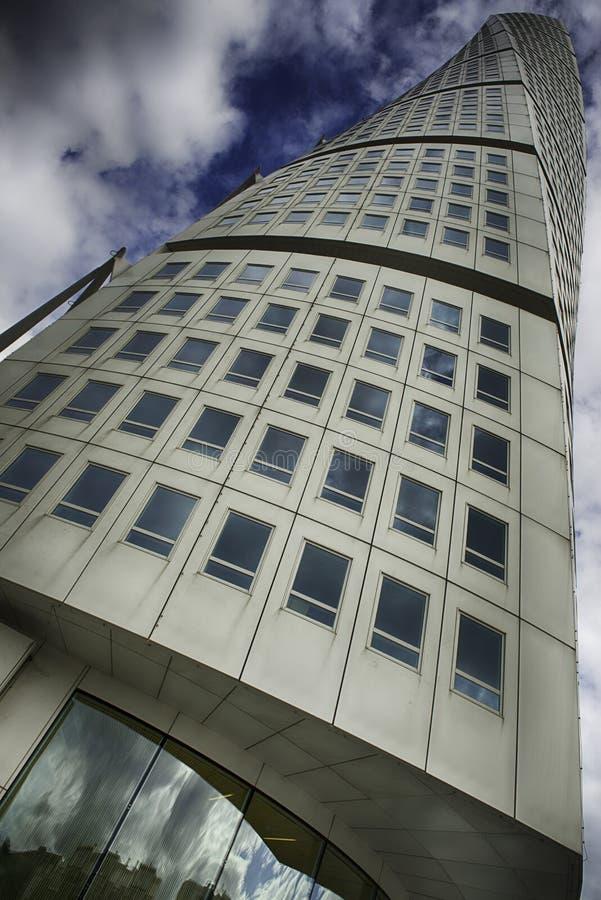 Turning Torso in Malmö, by architect Santiago Calatrava royalty free stock photography