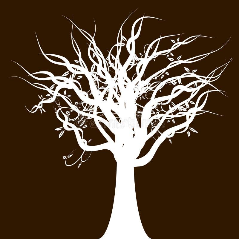 Twisted Tree royalty free illustration