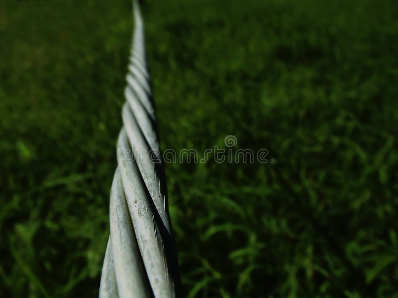 Download Twisted wire stock image. Image of fence, dreams, space - 32703