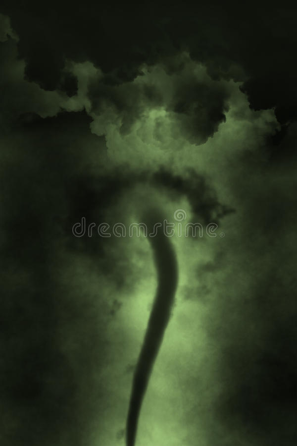 Twister облака воронки шторма торнадо иллюстрация вектора