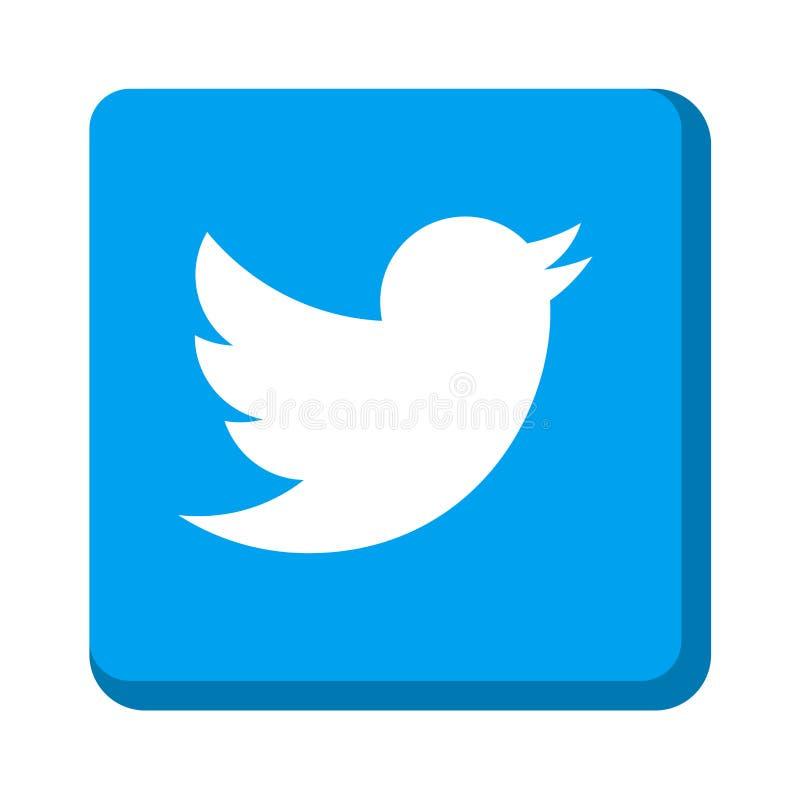 Twitter icon vector illustration
