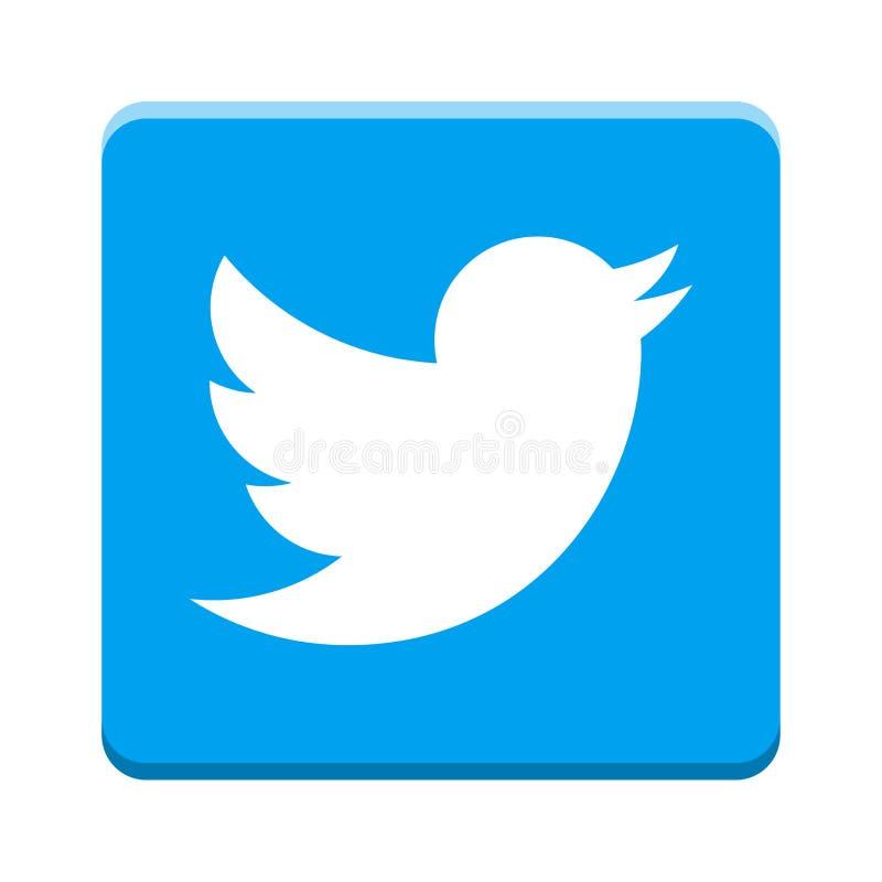 Twitter icon stock illustration