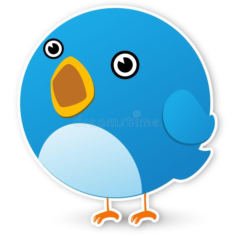 Download Twitter bird stock vector. Illustration of communication - 15986172