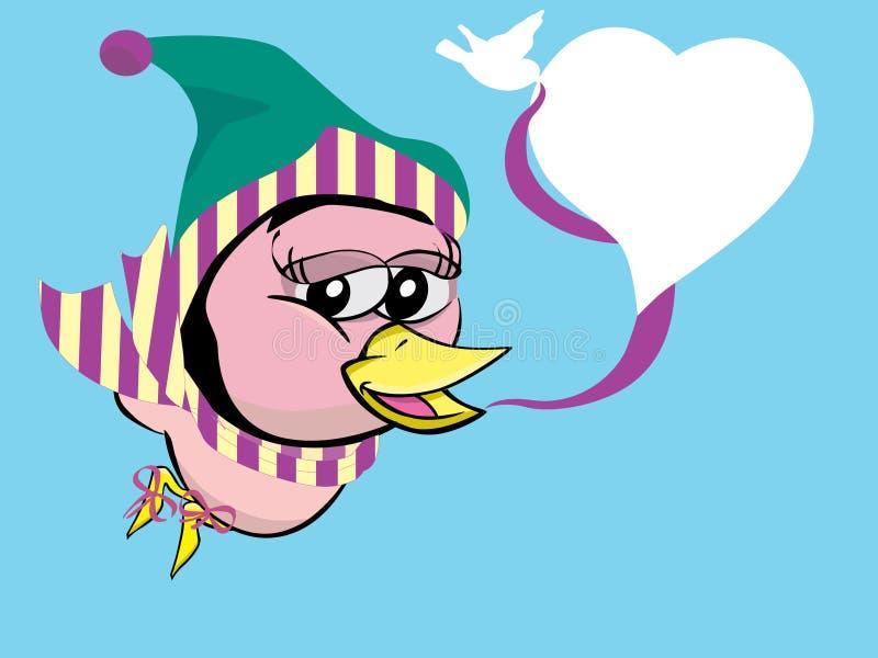 Download Twitter Bird On Winter Stock Photos - Image: 15739053