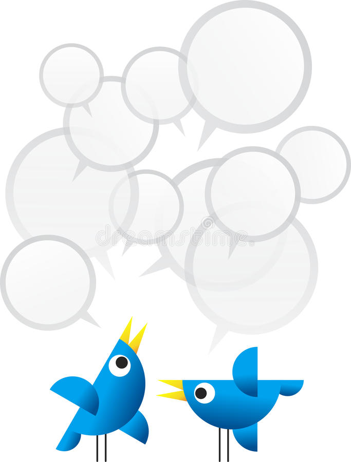 Twitter Birds stock photography