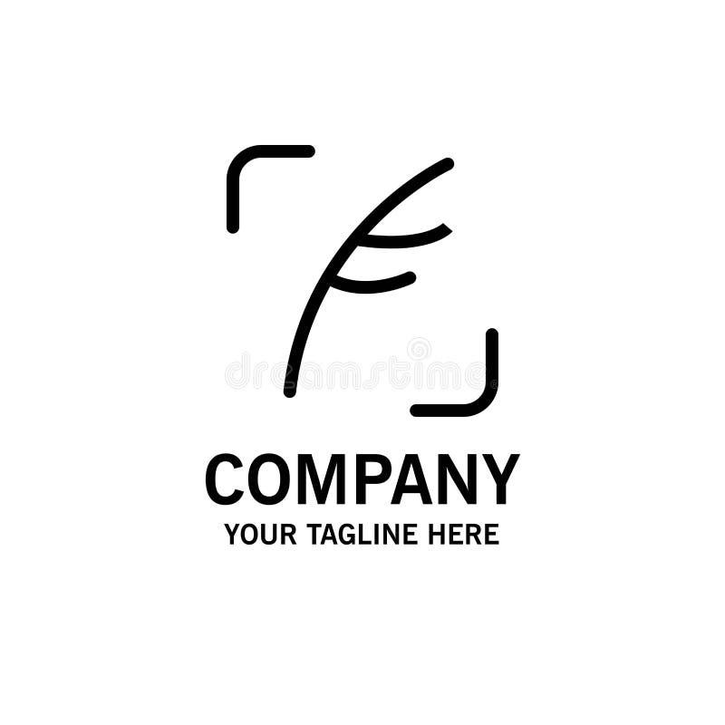 Twitter fjäder, fågel, social affär Logo Template plan f?rg vektor illustrationer