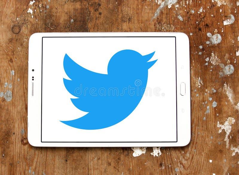 Twitter-Logo lizenzfreies stockfoto