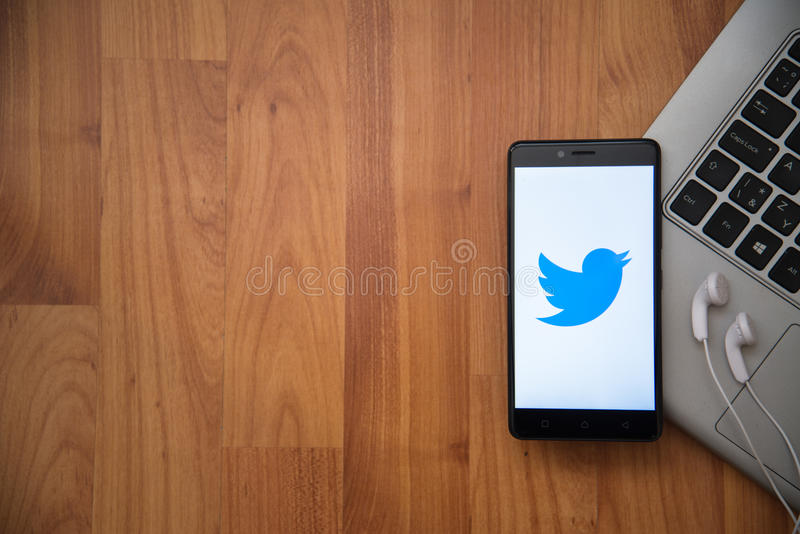 Twitter royalty free stock photography