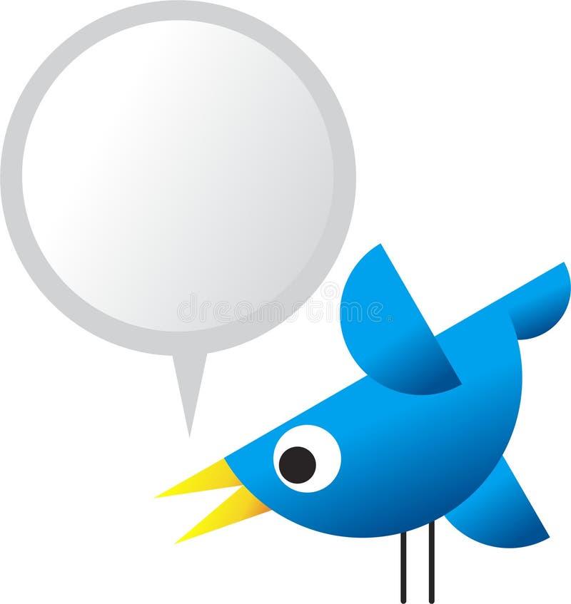 Twittervogel stock abbildung