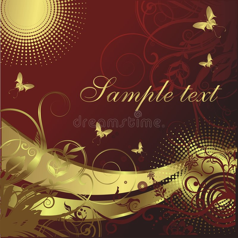 Download Two abstract sun stock vector. Image of image, decoration - 8750678