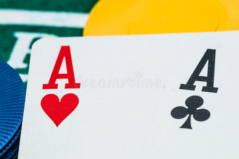 Download Two aces stock image. Image of hazard, debt, currency - 36344593