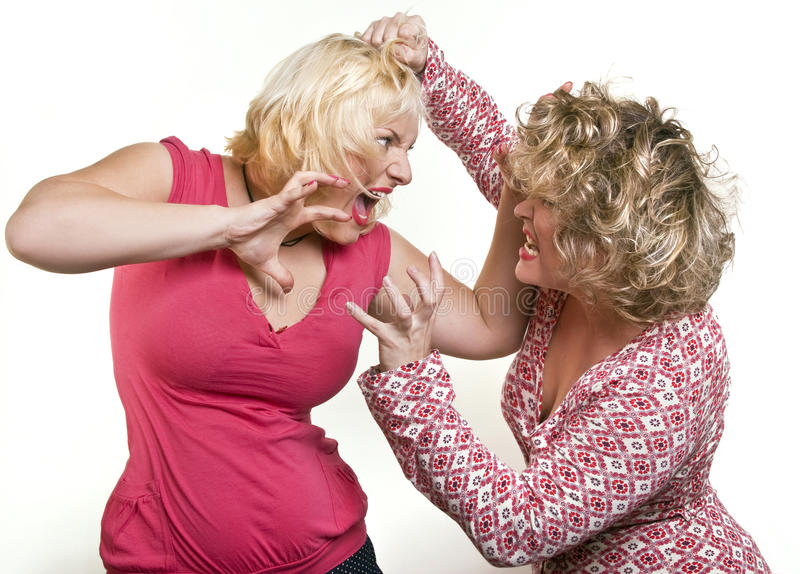 Download Two Adult Women Blondes Fighting Stock Photo - Image: 32903550