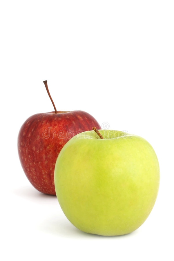 Free Two Apples Royalty Free Stock Image - 2931876