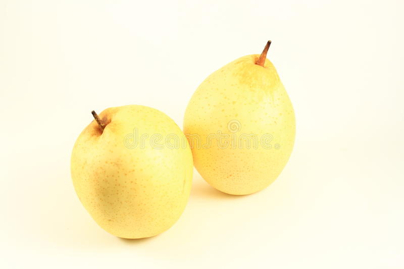 Two Asian Pears Stock Image