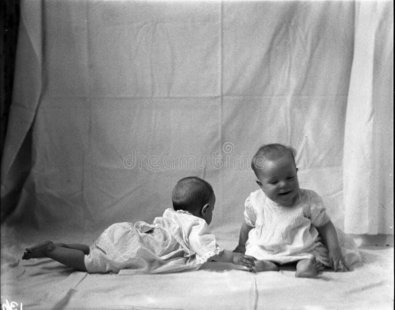 Two Babies, 1915 Free Public Domain Cc0 Image