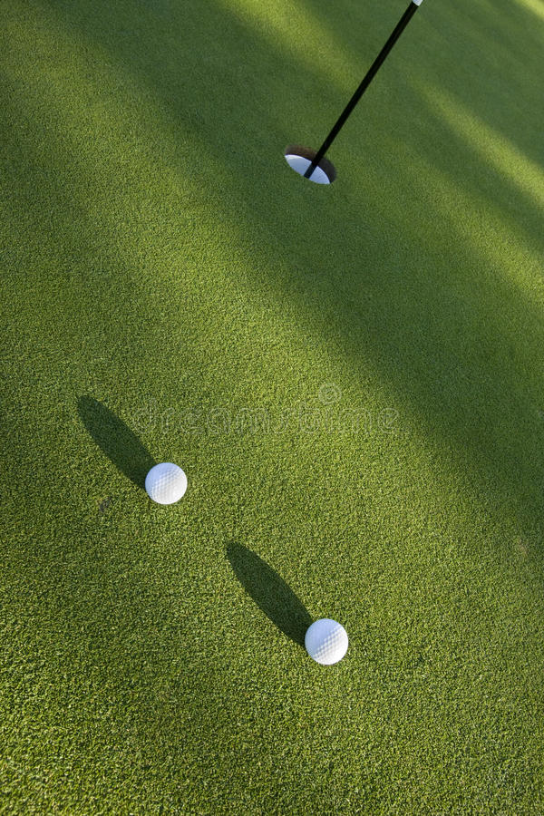 Download Two balls stock photo. Image of ball, flagstick, vertical - 10564384