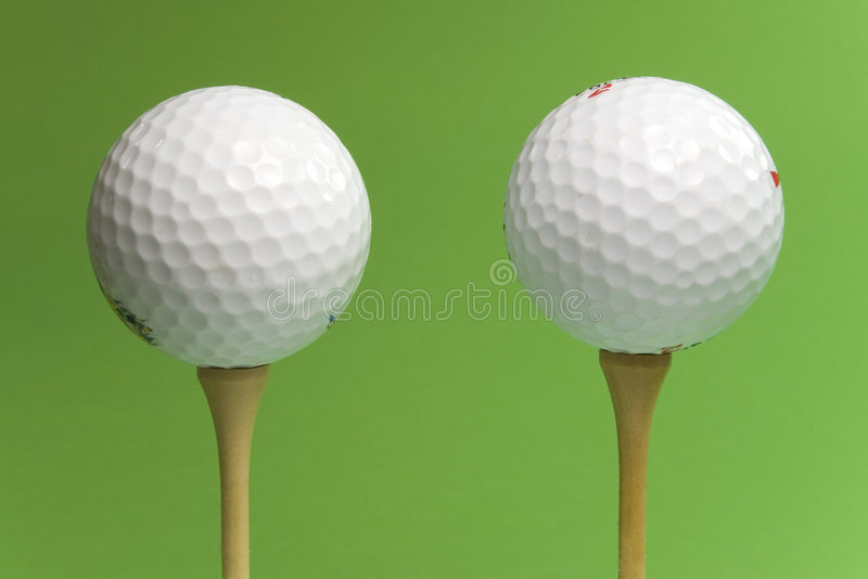 Two balls stock photography