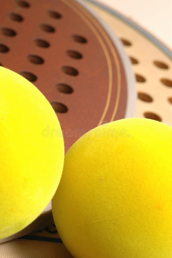 Download Two balls and paddles stock photo. Image of connecicut - 456028