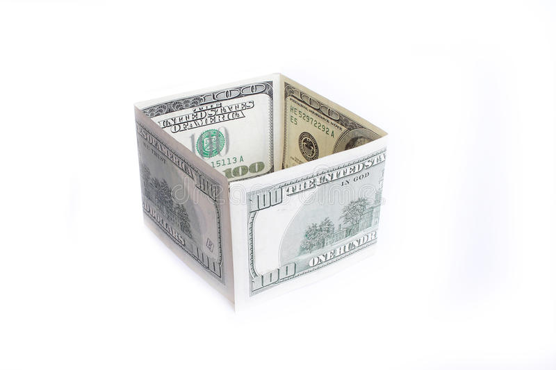 Download Two Banknotes Face Value Hundred Dollars Royalty Free Stock Images - Image: 22797889
