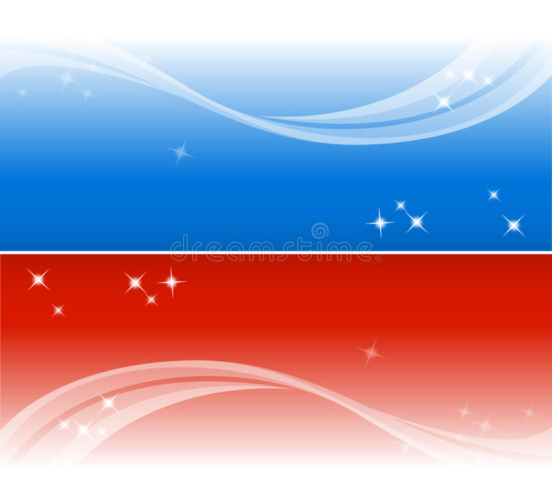 Download Two banners stock vector. Illustration of bright, graphic - 13685982