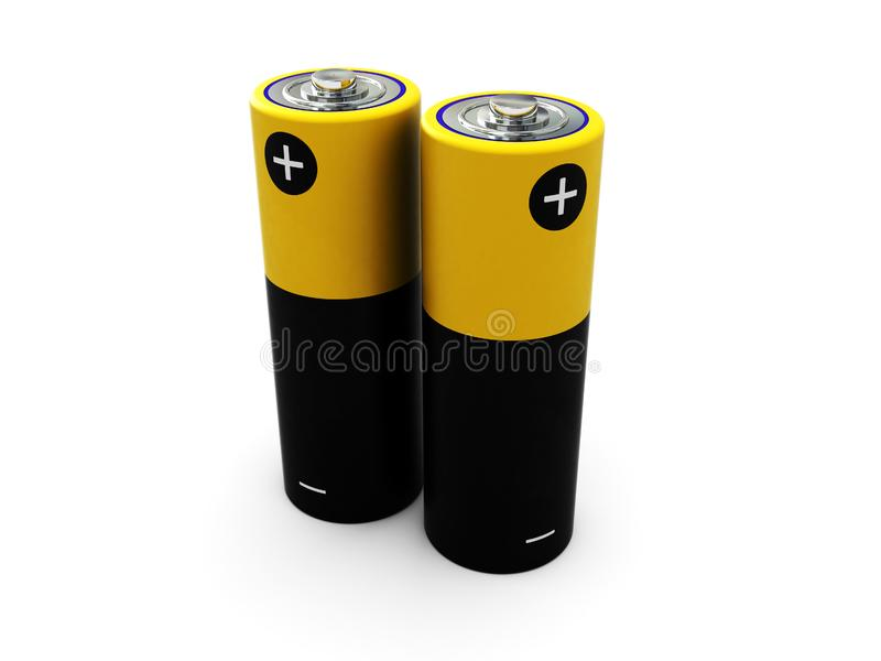 Two battery