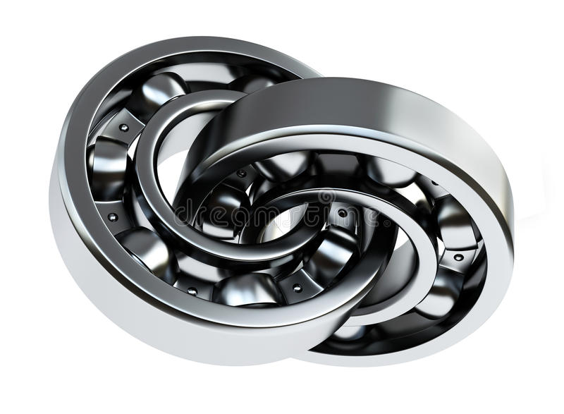Download Two bearings stock illustration. Image of technology - 17503446