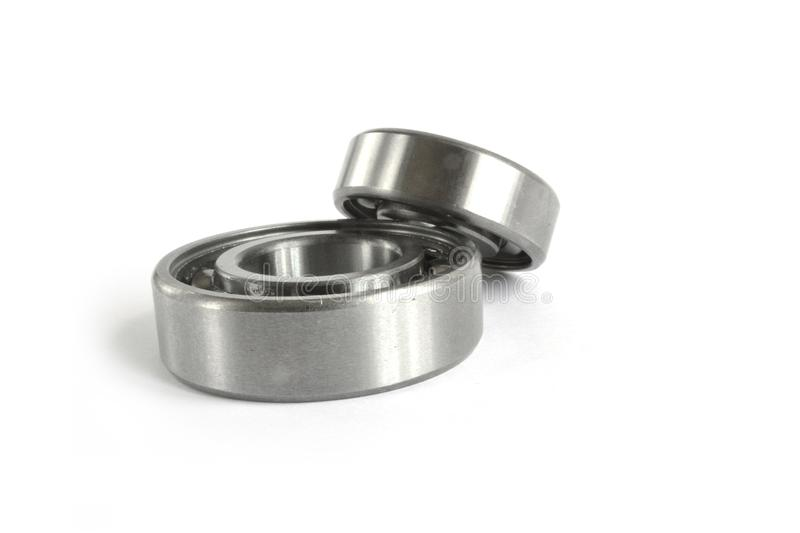 Two bearings. On the white background royalty free stock image