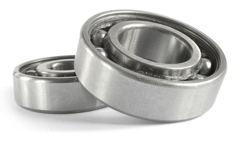 Two bearings. On the white background royalty free stock photo