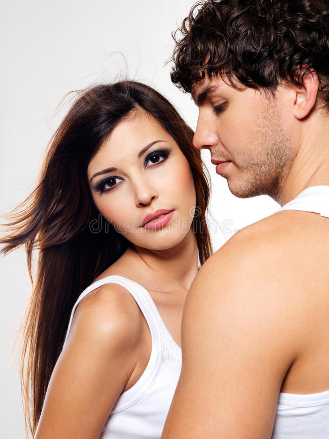 Download Two beautiful lovers stock image. Image of date, beauty - 13044793