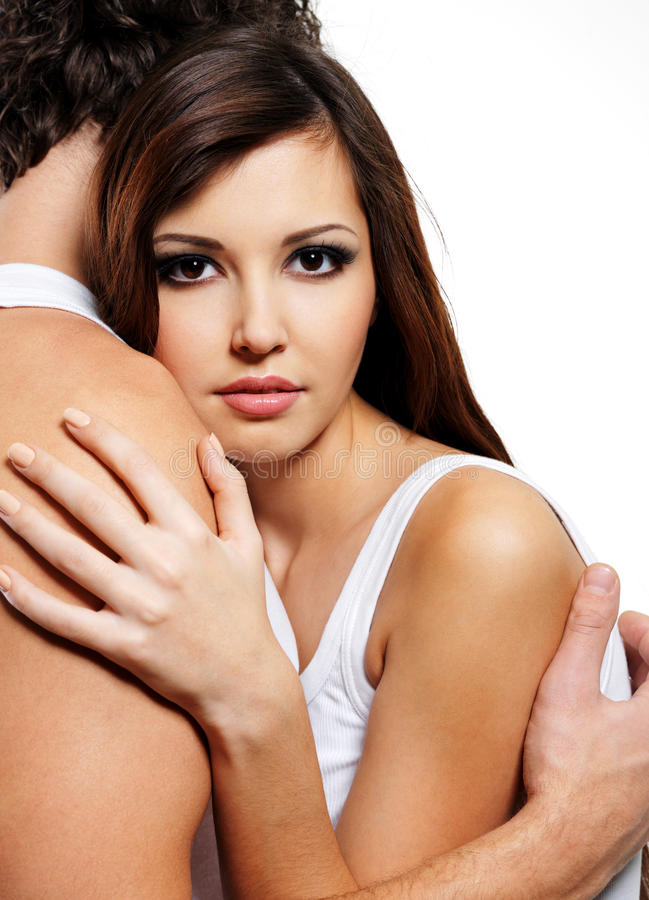 Download Two beautiful lovers stock photo. Image of casual, girl - 13044888