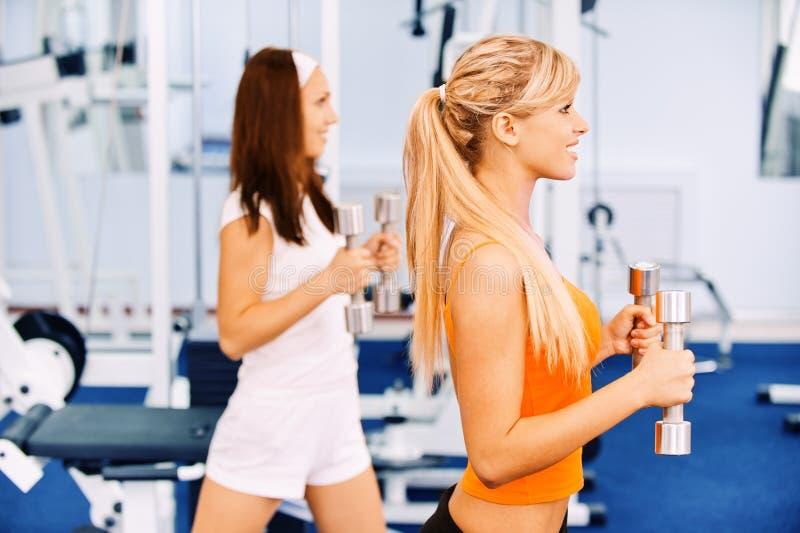 Download Two beautiful sportswomen stock photo. Image of health - 16589034