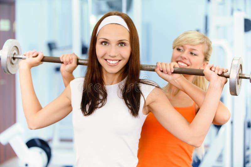 Download Two Beautiful Sportwomen Make Stock Image - Image: 15648987