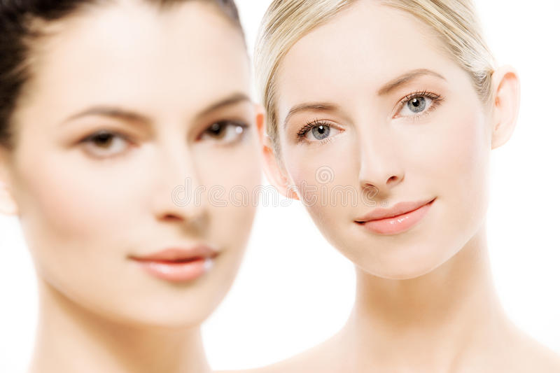 Download Two beautiful women stock photo. Image of clean, beauty - 17037542