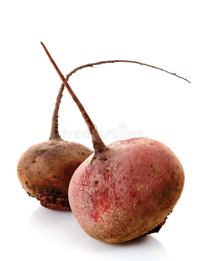 Free Two Beet Isolated Royalty Free Stock Photo - 17960485