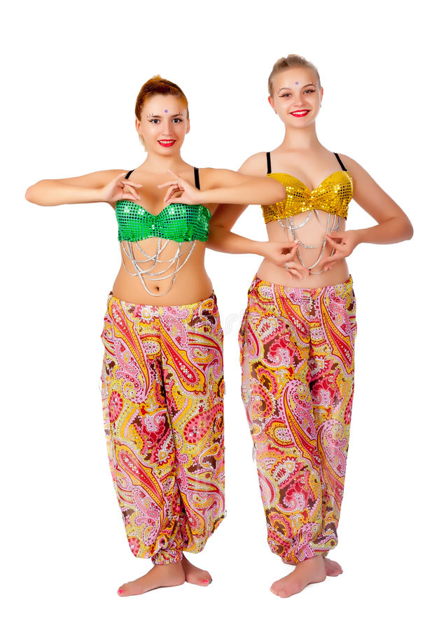 Download Two Belly Dancers Stock Image - Image: 28012301