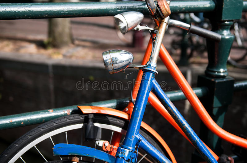 Download Two bicycles stock image. Image of rested, leaning, bike - 17504507