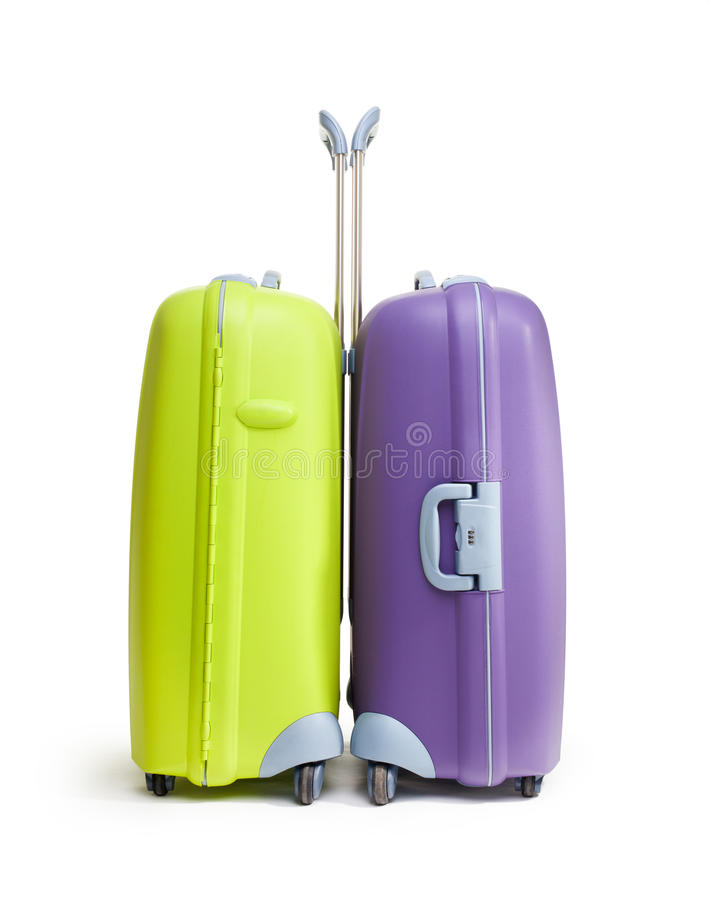 Download Two Big Hard Suitcases Royalty Free Stock Photography - Image: 24241527