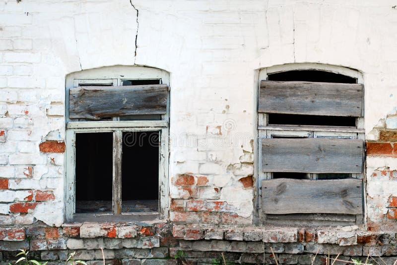 Download Two Bkoken Windows Stock Photography - Image: 28977322