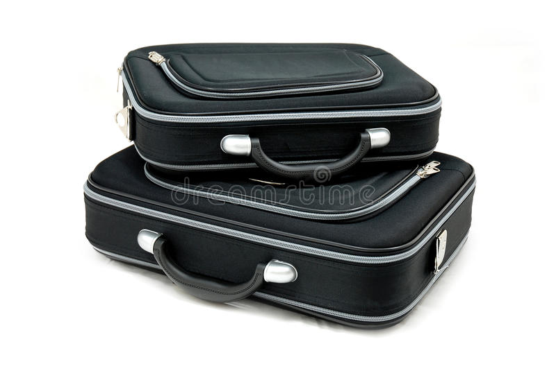 Download Two Black Suitcases Royalty Free Stock Image - Image: 27459076