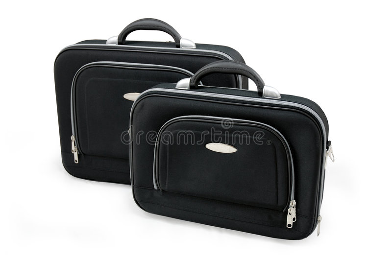 Download Two Black Suitcases Royalty Free Stock Photo - Image: 3331655