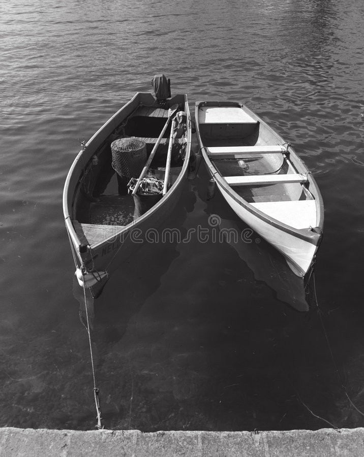 Two Boats royalty free stock photo